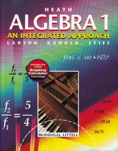 Heath Algebra 1: An Integrated Approach