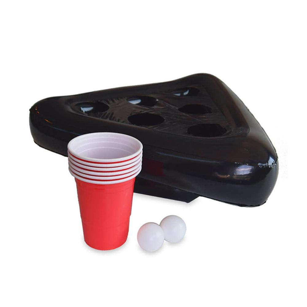 Womdee Party Cups Games for Adults Inflatable Hat Beer Pong Game Ball Toss Party Games Hat Toss Inflatable Halloween Party Game Friends Family Christmas Party Games for Kids and Adults