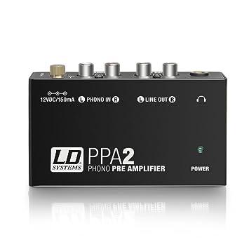 Ld systems LDPPA2 - Ppa2 preamplificador y ecualizador riaa para tocadiscos: Amazon.es: Electrónica