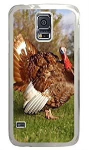 Turkey Custom Samsung Galaxy S5 Case and Cover - Polycarbonate - Transparent