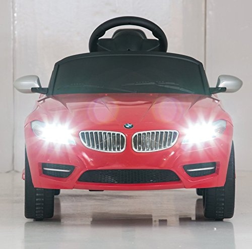 Bmw Z4 Rastar 6v Battery Operated Remote Controlled Red