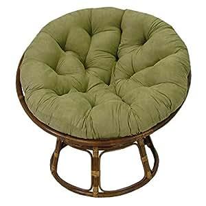 Rattan Papasan Chair With Cushion Kitchen Dining