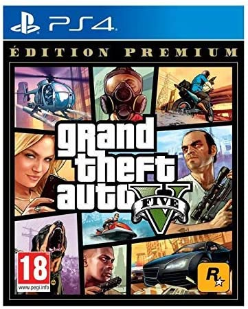 GTA V - Edition Premium - PlayStation 4 [Importación francesa]: Amazon.es: Videojuegos