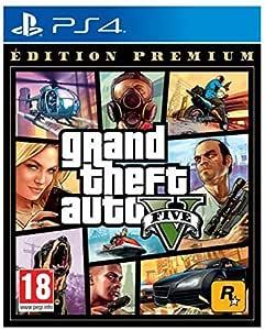 Grand Theft Auto 5 (GTA V) - Premium Edition, (French) PS4 (PS4)
