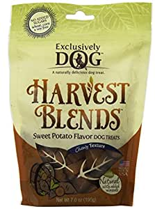 Exclusively Dog Harvest Blends Sweet Potato Flavored Treats, 7-Ounce