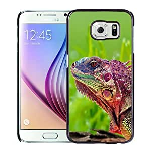 New Personalized Custom Designed For Samsung Galaxy S6 Phone Case For Beautiful Chameleon Phone Case Cover