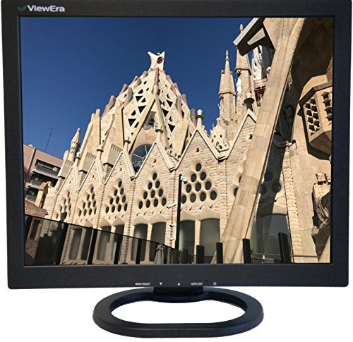 ViewEra V172BN2 TFT LCD Security Monitor 17'' Diagonal Screen Size, VGA, BNC (1 In/1 Out), Resolution 1280 x 1024, Brightness 250 cd/m2, Contrast Ratio 1000:1, Response Time 5ms, Built-In Speaker by ViewEra