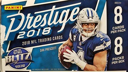 Hobby Blaster - 2018 Panini Prestige Football Blaster Box (8 Packs/8 Cards: 1 Hit)