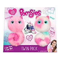 Pomsies Twin Pack Plush Interactive Toys, Packaging Syles and Colors May Vary from Skyrocket