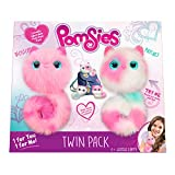 Pomsies Twin Pack Plush Interactive Toys, Packaging Syles and Colors  May Vary