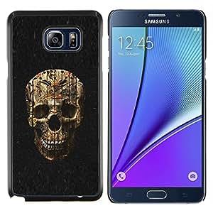 """For Samsung Galaxy Note5 / N920 Case , Cráneo de Halloween Evil Death Metal"""" - Diseño Patrón Teléfono Caso Cubierta Case Bumper Duro Protección Case Cover Funda"""