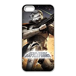 Star Wars iPhone 5 5s Cell Phone Case-White M3788092