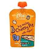 Ella'S Kitchen Big Smiles Cheesy Pie With Veggies Stage 2 From 7 Months 130G - Pack of 2