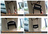 Nicebee 2Pcs Blue Universal Fit Car Seatbelt