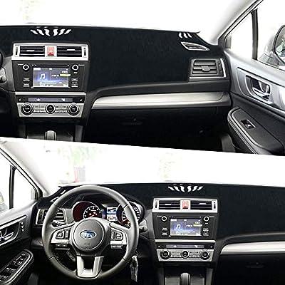 Subaru Outback Dashboard Cover Dash Pad Car Mat Carpet Sun Shade for Subaru Outback 2015 2016 2017 2018 Anti-Slip Dash Board Cover Auto Accessories