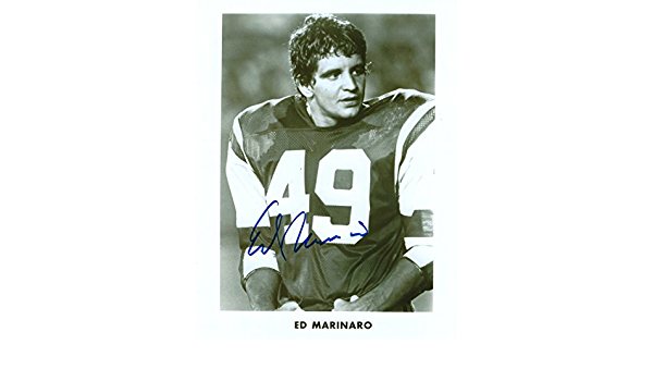 Autographed Ed Marinaro 8x10 Cornell University Photo