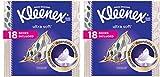 Kleenex asdaSs Ultra Soft Facial Tissues, 75 Tissues per Cube Box, 36 Boxes, 75 Tissues/Box