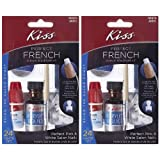 **2-PACK** Kiss Nails PERFECT French Acrylic Sculpture Kit - AKF01 by Kiss