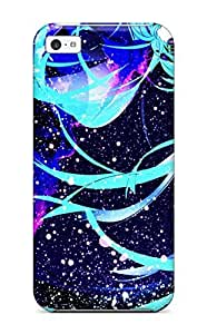 Awesome Vocaloid Flip Case With Fashion Design For Iphone 5c