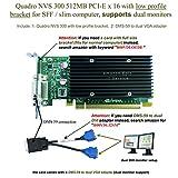 Epic IT Service - Quadro NVS 300 PCI-E x 16 (half size bracket, DMS-59 to dual VGA adapter)
