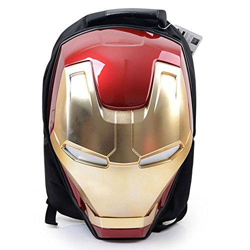 Marvel 3D Hardshell Backpack (Iron Man (LED Light)) by Mtime