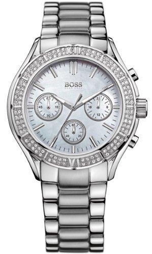 Hugo Boss 1502339 40mm Silver Steel Bracelet & Case Mineral Women's Watch