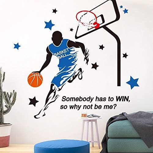 Jugador de baloncesto Pegatinas de Pared Nba Vinilo Deportista Diy ...