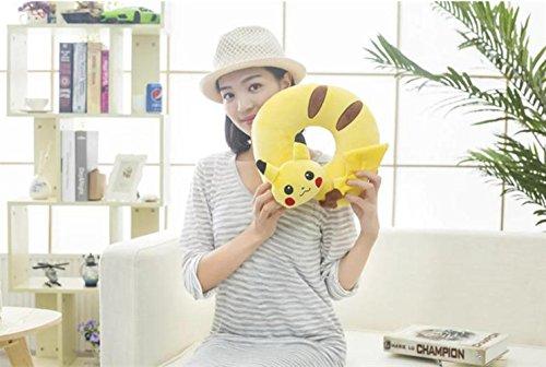 Generic U-Shape Memory Foam Travel Pillow, Pokemon Pikachu N