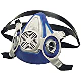 MSA Safety 815444 Advantage 200 LS Half-Mask Respirator with Single Neckstrap, Medium