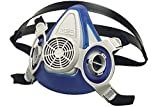 MSA 815444 Advantage 200 LS Half-Mask Respirator with Single Neckstrap, Medium