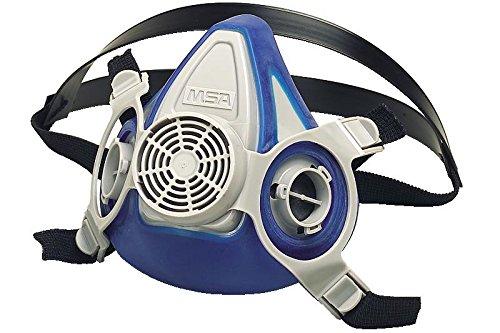 Msa Safety 815444 Advantage 200 Ls Half Mask Respirator With Single Neckstrap  Medium