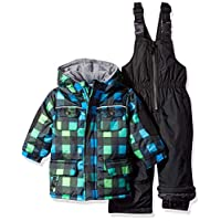 Wippette Baby Boys and Toddler Insulated Snowsuit, Buffalo Black, 24M