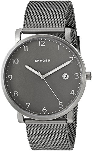Skagen Men's SKW6307 Hagen Stainless Steel Mesh Watch