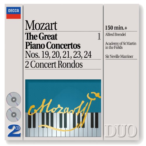 Mozart: The Great Piano Concertos, Vol.1 (2 CDs) (Philips Philips Cd)