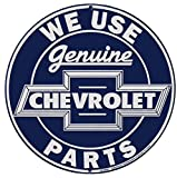 Genuine Chevrolet Parts 12″ Blue Metal Tin Sign from Redeye Laserworks Review