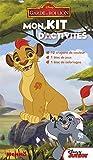 mon kit d activit?s la garde du roi lion 12 crayons de couleurs 1 bloc de jeux 1 bloc de coloriages