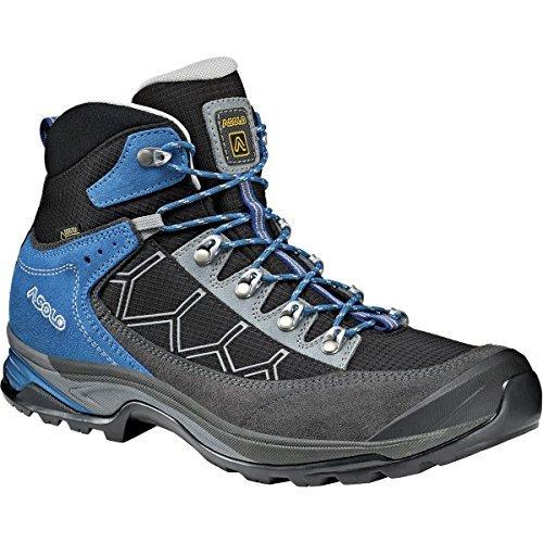 (Asolo Falcon GV Hiking Boot - Men's Graphite/Black,)