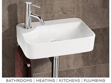 Amazon.com: Lugo Washbasin in White: Home & Kitchen