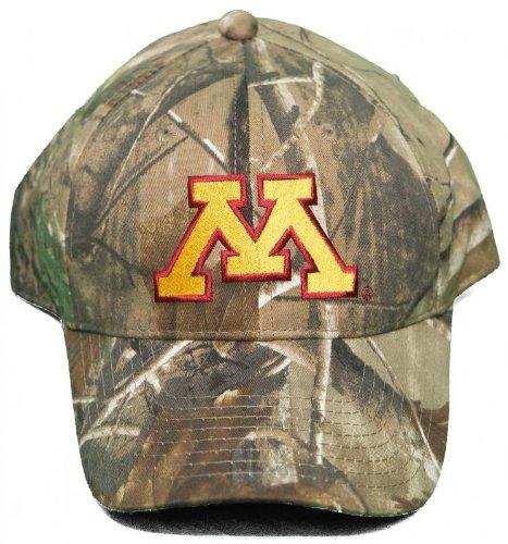 触覚五インシデント新しい。University of Minnesota Golden Gophers Buckle Back Hat刺繍迷彩キャップ