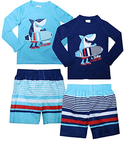 infant shark swimming suit - 2