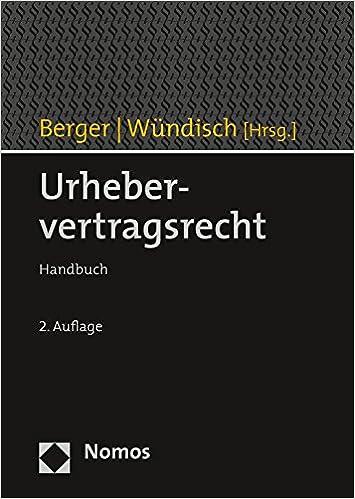 Urhebervertragsrecht: Handbuch