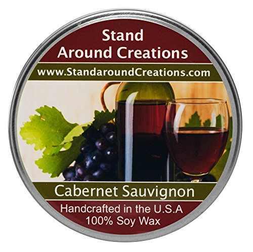 Premium 100% Soy Tureen Candle - 3 oz.- Cabernet Sauvignon- A sweet aroma of wild grapes w/sweet sugary notes. A wonderful aroma of red sweet cabernet wine.