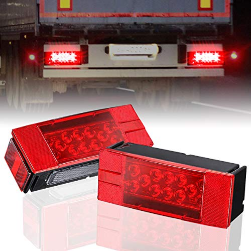 Compare Price Rear Trailer Running Lights On