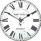 Roger Lascelles Medium Size Neill Classic Wall Clock, 10-Inch