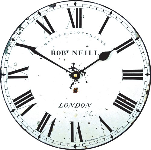 Cheap Roger Lascelles Medium Size Neill Classic Wall Clock, 10-Inch