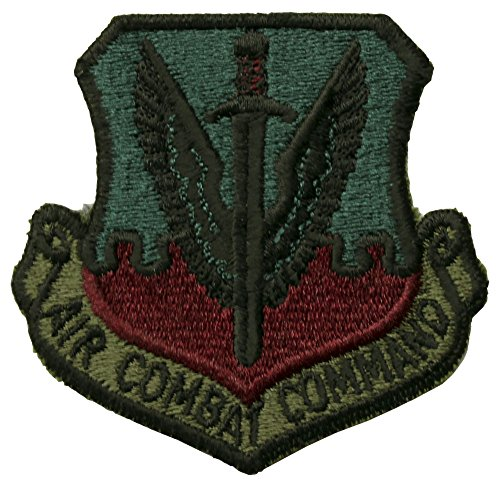 Air Force Air Combat Command Patch Subdued (Combat Patch Command Air)