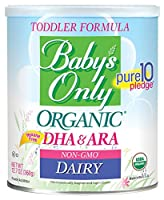 Baby's Only Organic Non-GMO Dairy with DHA & ARA Toddler Formula, 12.7 oz