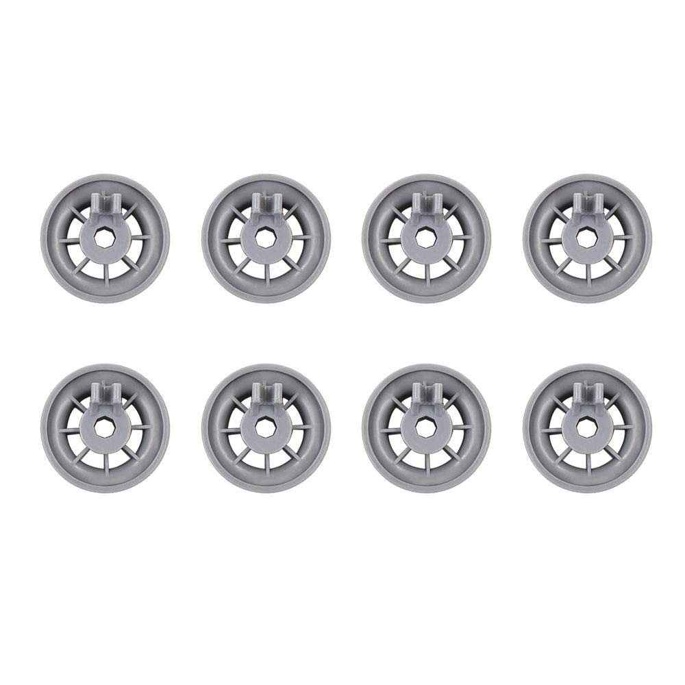 Durable 165314 Dishwasher Lower Rack Wheel Replacement, Fit for Bosch and Kenmore Dishwasher (8) MMBOX