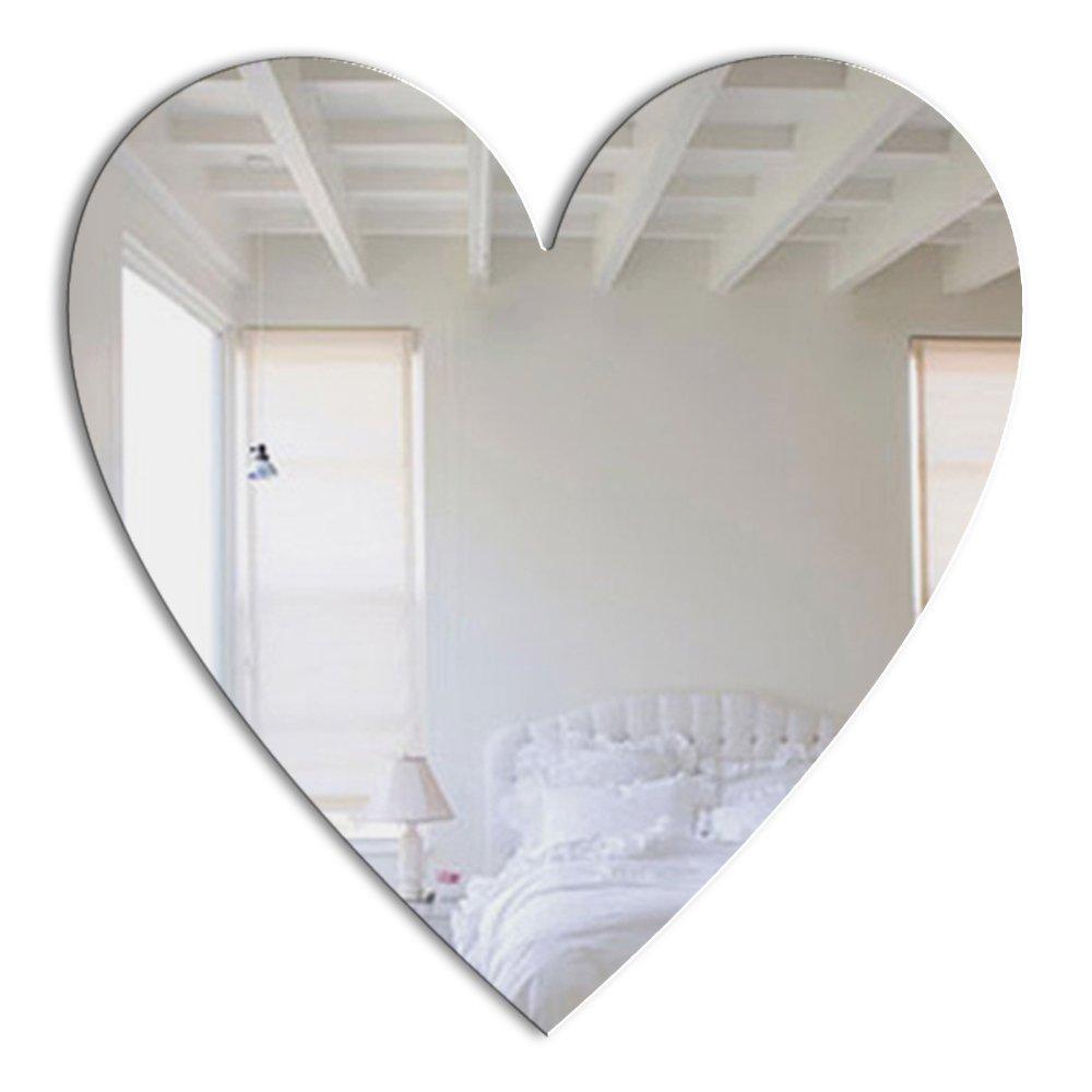 Mungai Mirrors 30cm Heart Acrylic Mirror 1018