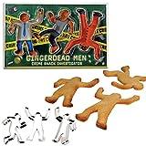 GingerDead Men Baking Cookie Cutter Se